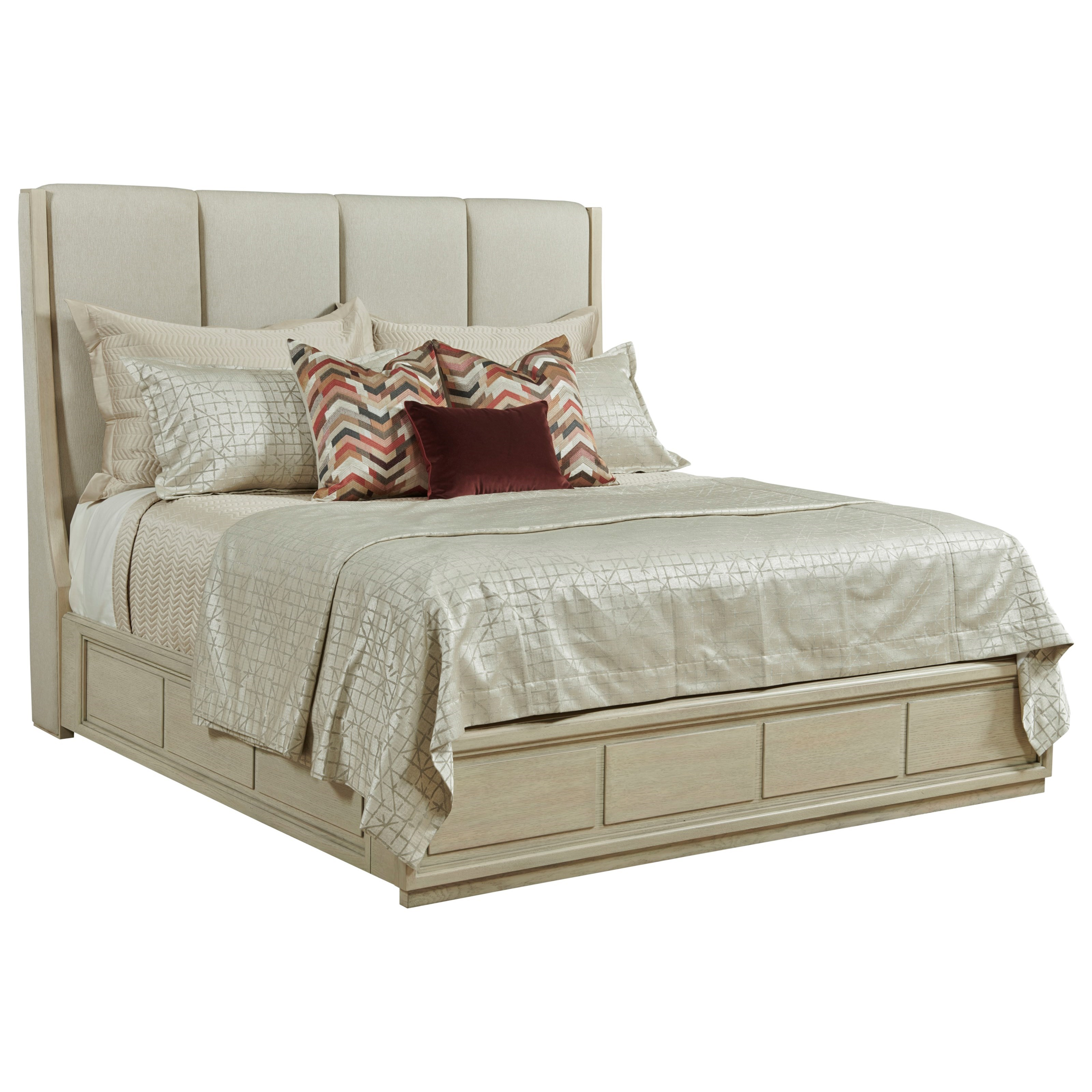 Lenox Queen Upholstered Bed by American Drew at Johnny Janosik
