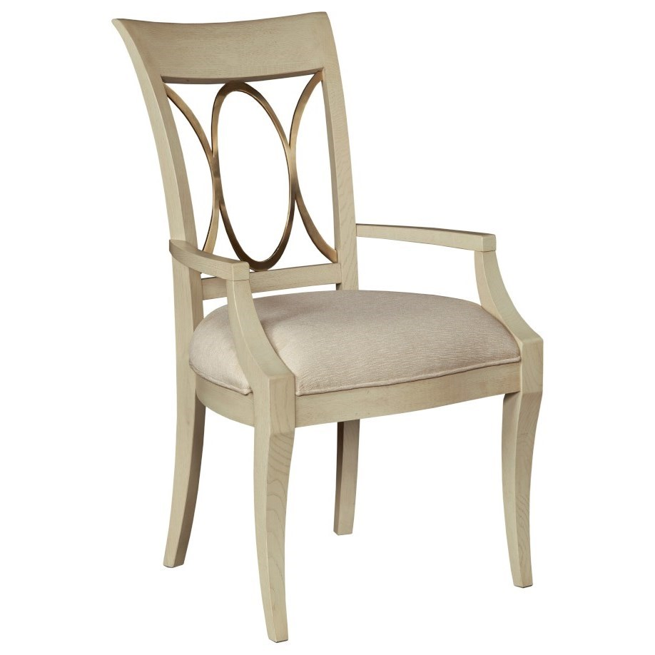Lenox Arm Dining Chair by American Drew at Stoney Creek Furniture