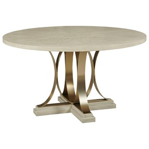 Round Plaza Dining Table