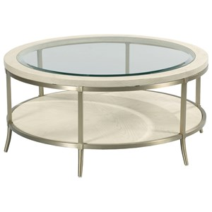 Monaco Coffee Table with Tempered Glass Top