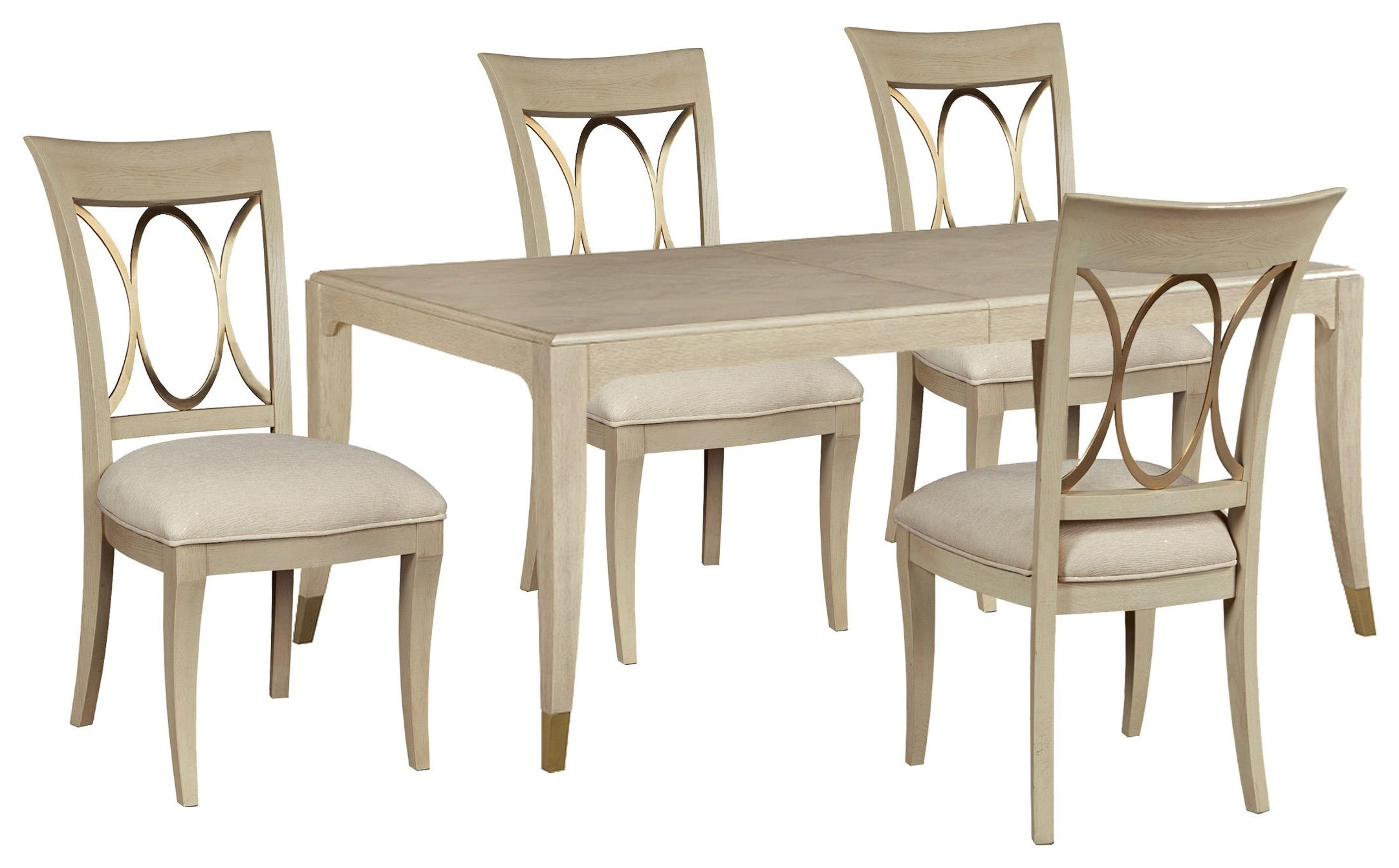 Lenox Table and 4 Chairs by American Drew at Johnny Janosik