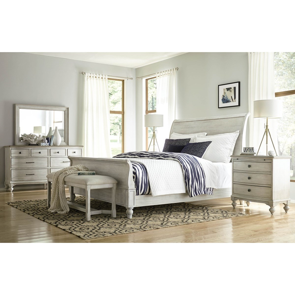 Litchfield King Bedroom Group by American Drew at Alison Craig Home Furnishings