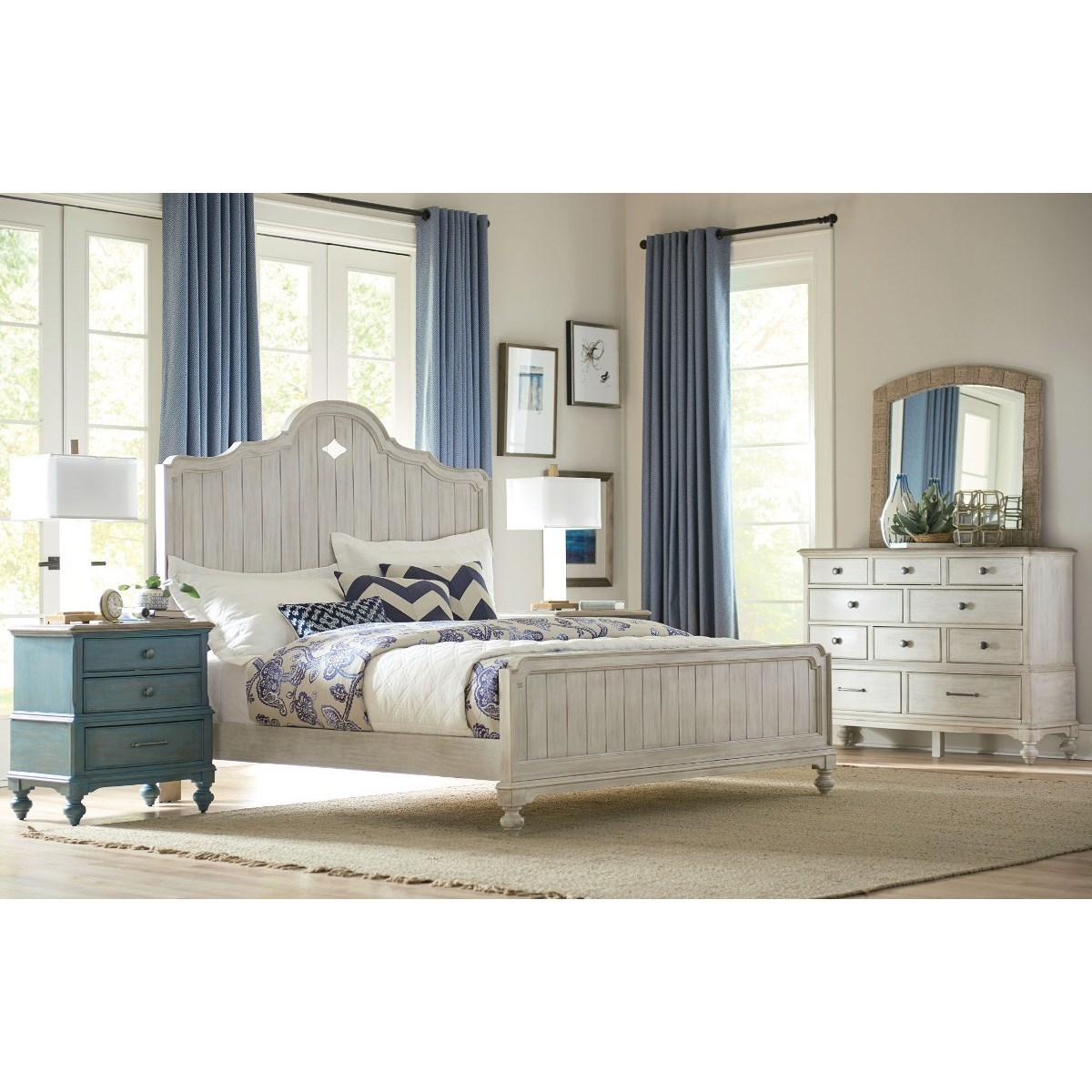 Litchfield Queen Bedroom Group by American Drew at Mueller Furniture