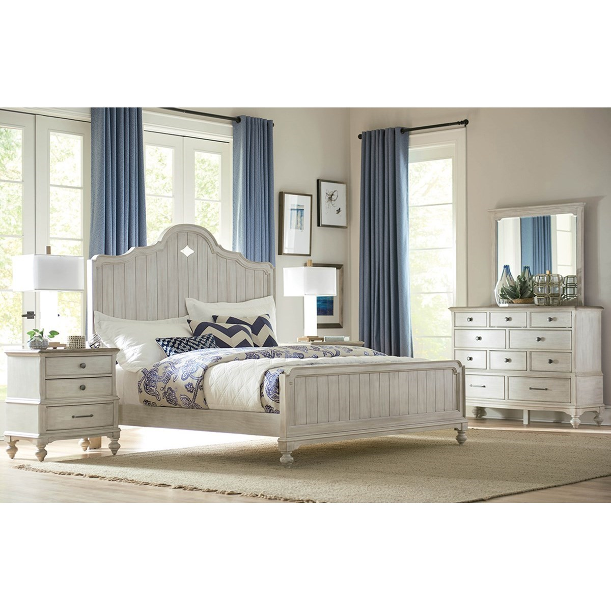 Litchfield California King Bedroom Group by American Drew at Mueller Furniture