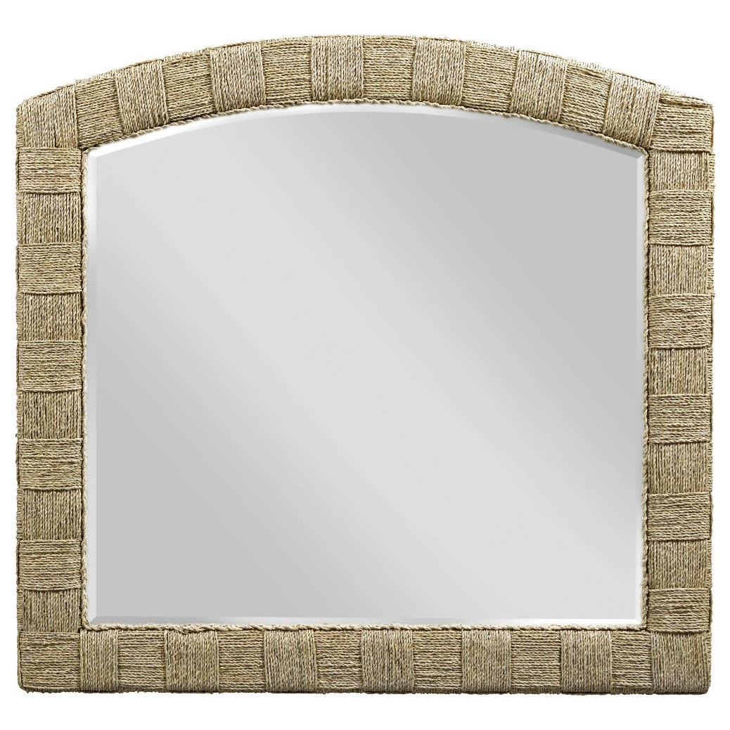Litchfield Weave Mirror by American Drew at Stoney Creek Furniture