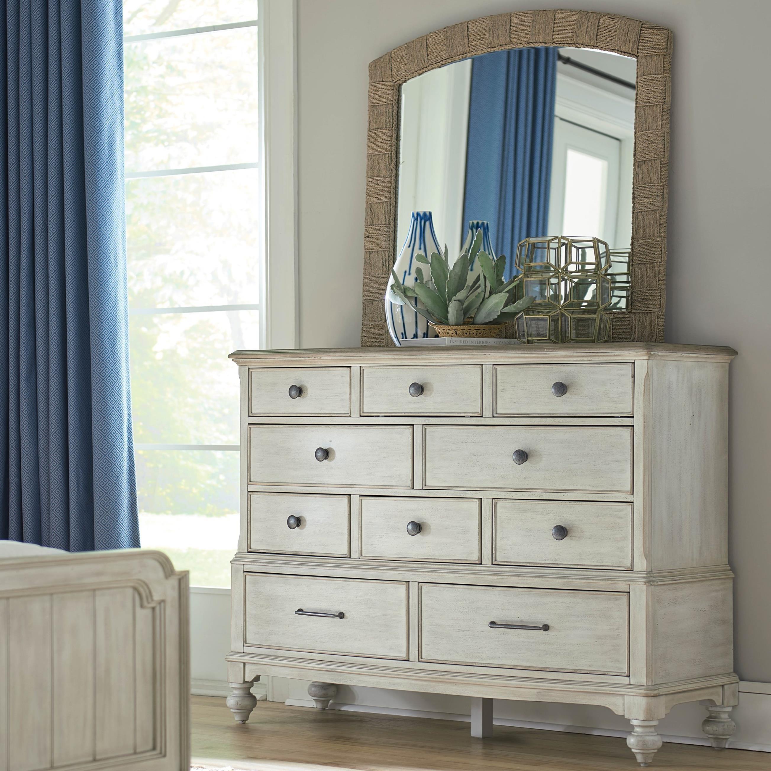 Litchfield Cotswold Dresser Mirror Set by American Drew at Stoney Creek Furniture