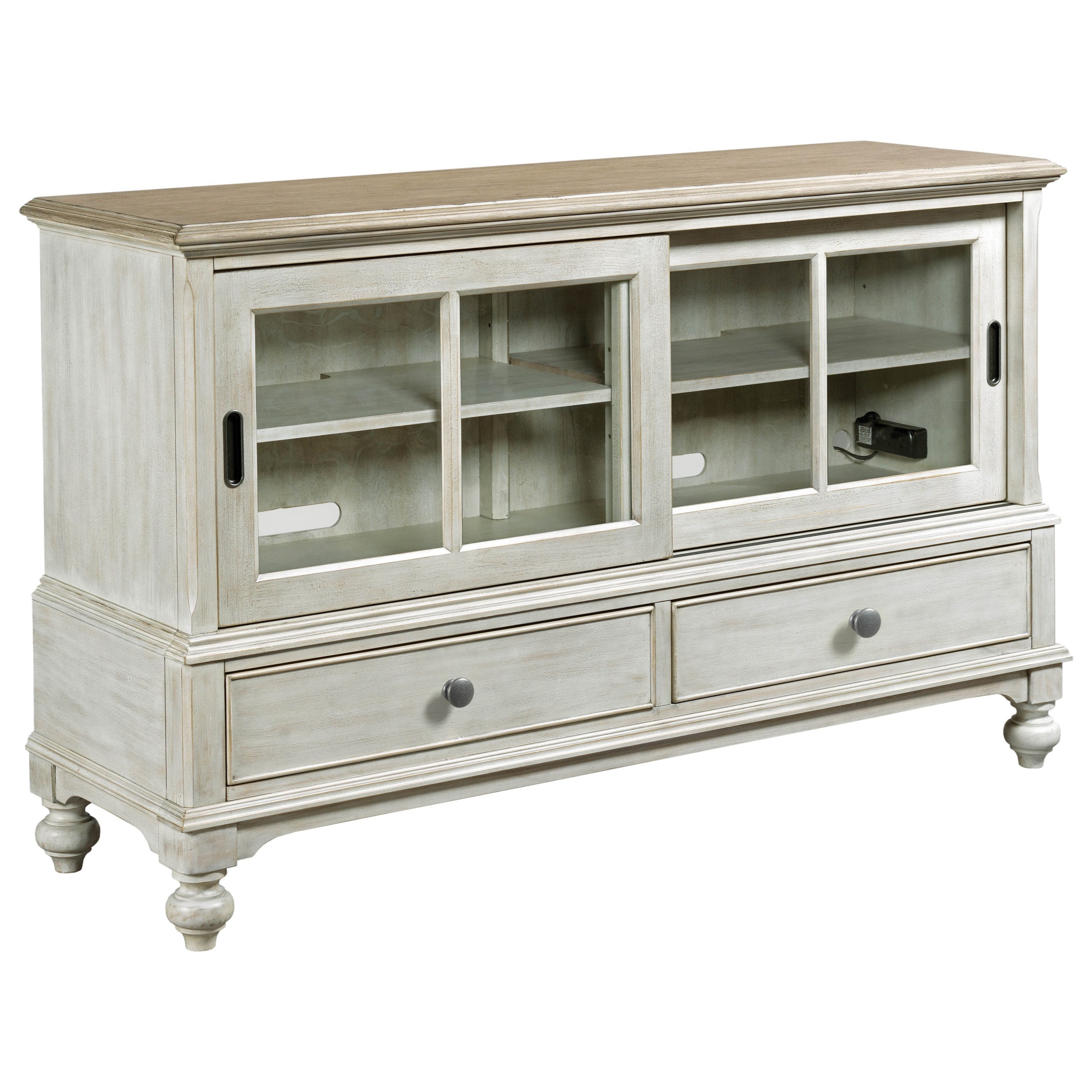 Litchfield Ludlow Entertainment Console by American Drew at Johnny Janosik