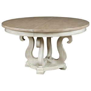 "Sussex Round Dining Table with 20"" Leaf"