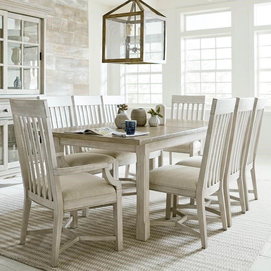 Litchfield Table, 4 Side Chairs, 2 Arm Chairs by American Drew at Johnny Janosik