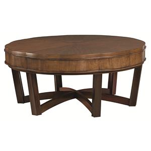 American Drew Miramar Round Cocktail Table