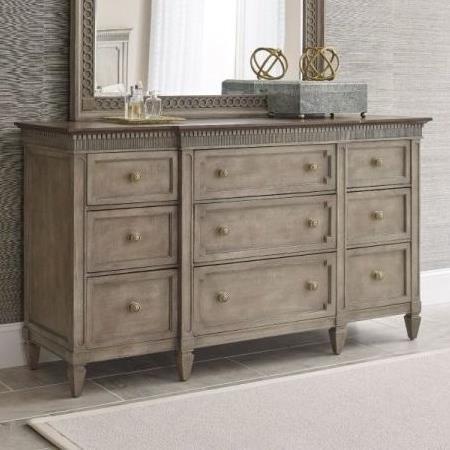 Salina Salina 9 Drawer Dresser by American Drew at Morris Home