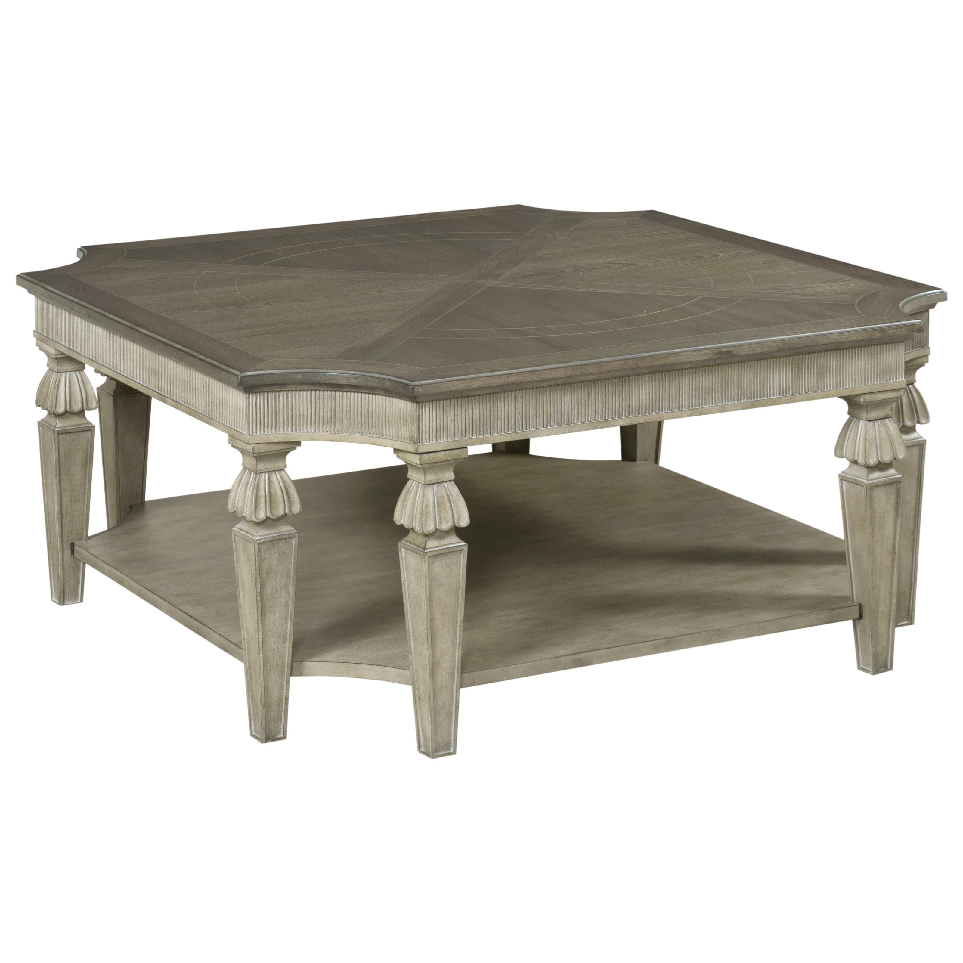 Savona Dorothea Square Cocktail Table by American Drew at Johnny Janosik