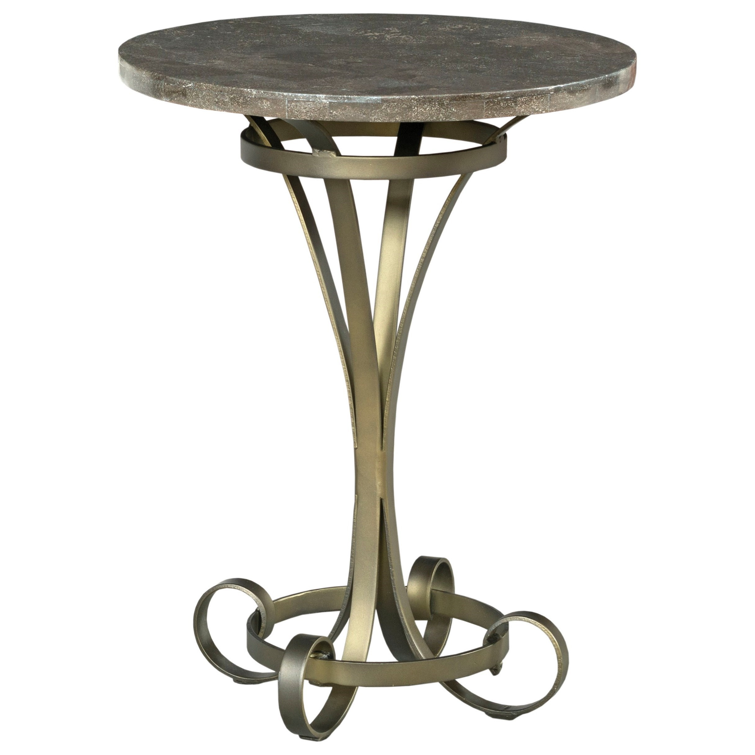 Savona Louise Round Lamp Table by American Drew at Johnny Janosik