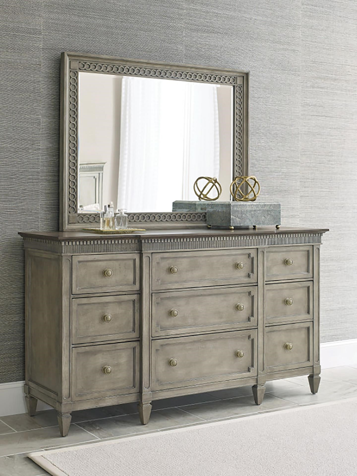 Savona Dresser and Mirror by American Drew at Johnny Janosik
