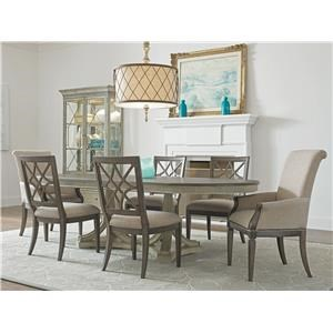 Table and Four Side Chairs