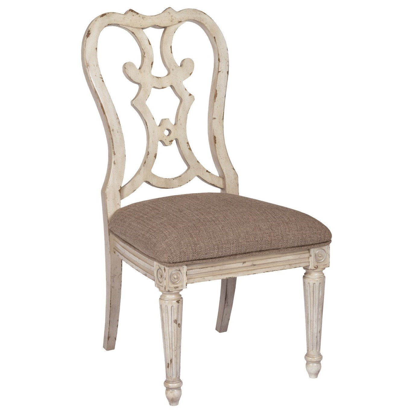 SOUTHBURY  Cortona Dining Side Chair by American Drew at Suburban Furniture