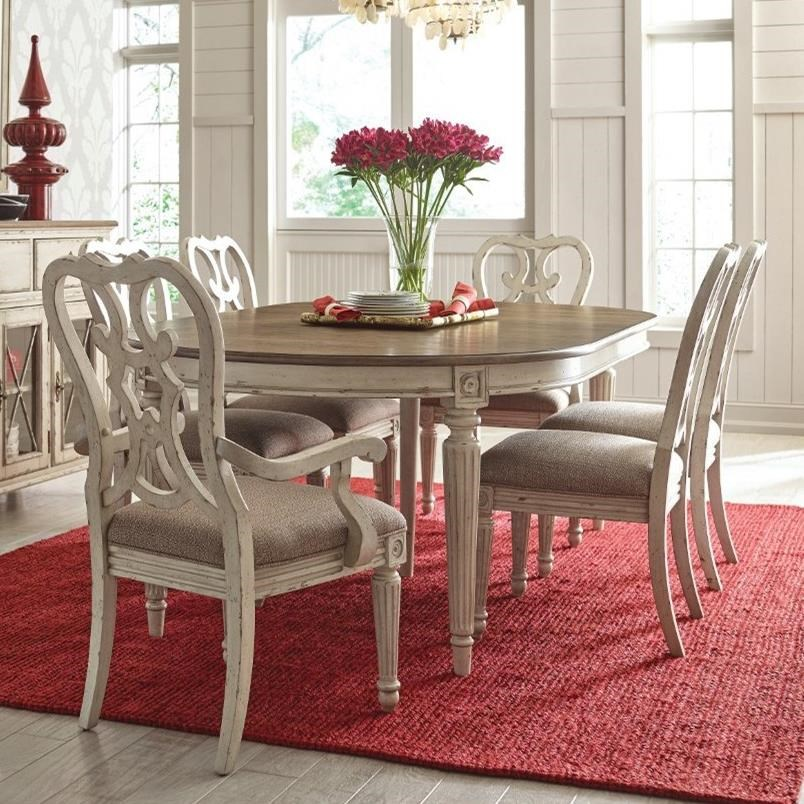 SOUTHBURY  7 Piece Table & Chair Set by American Drew at Stoney Creek Furniture