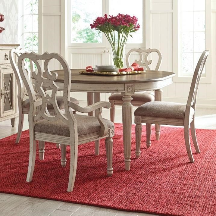 SOUTHBURY  5 Piece Table & Chair Set by American Drew at Stoney Creek Furniture