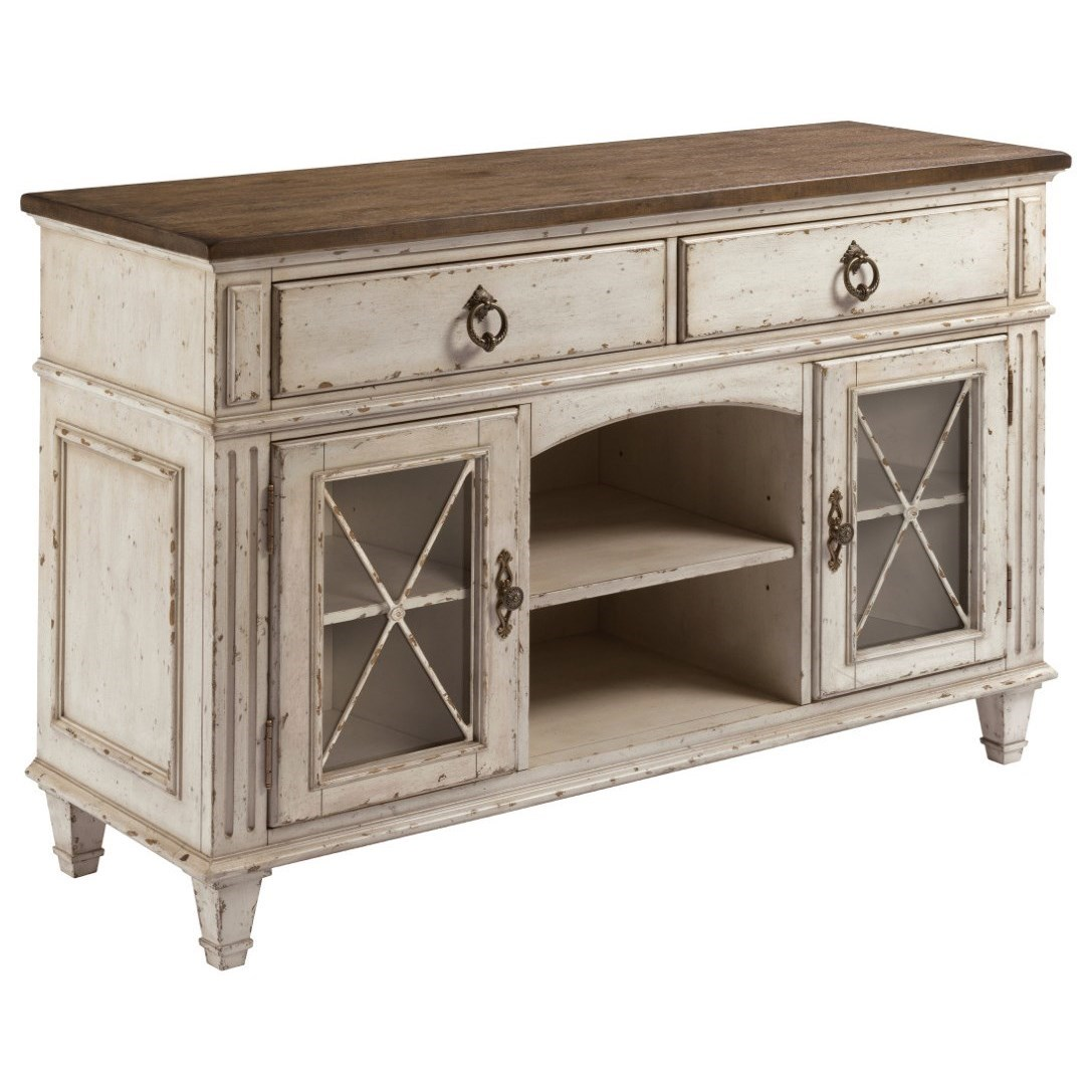 SOUTHBURY  Server with Two Doors by American Drew at Jacksonville Furniture Mart