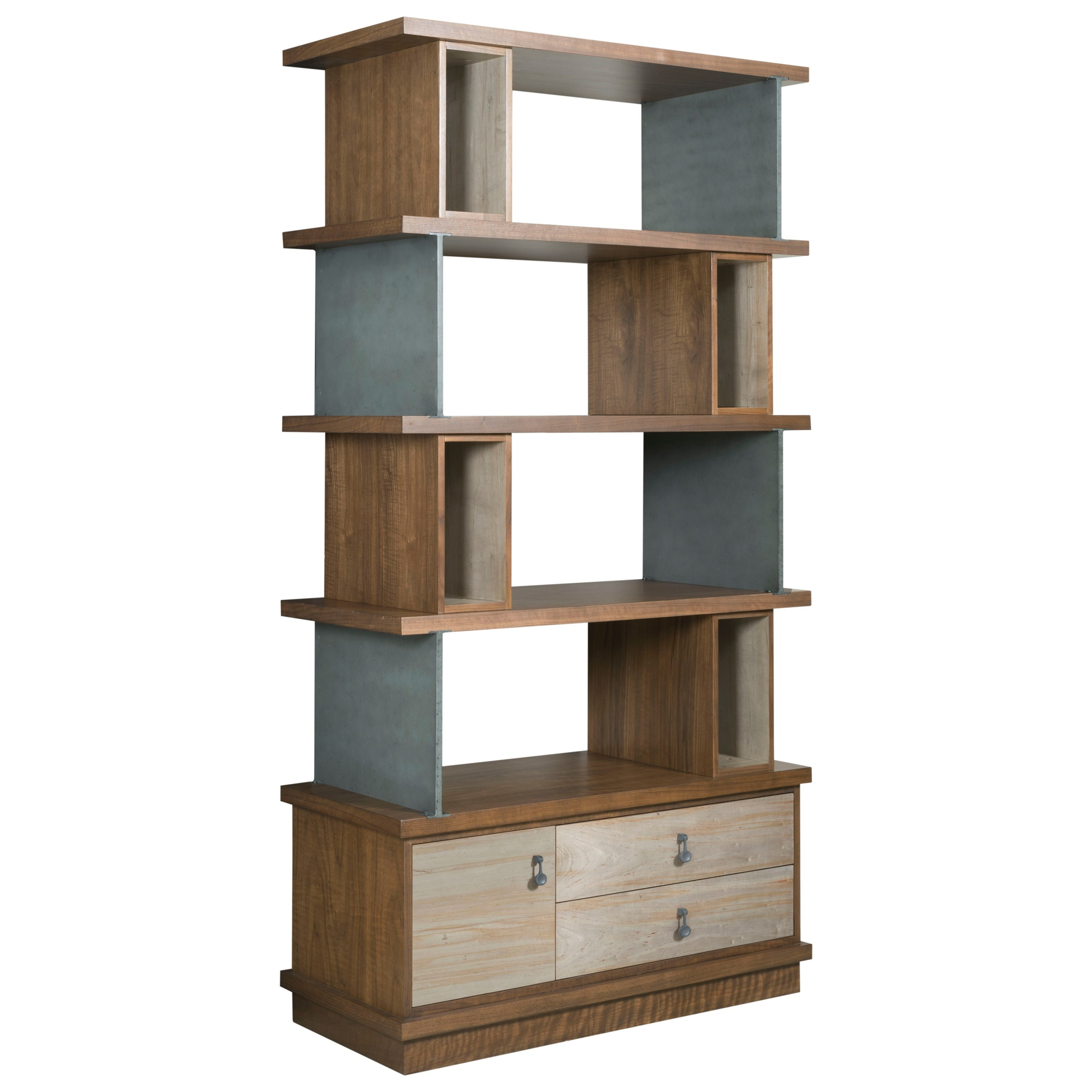 Modern Synergy Epoque Bookcase by American Drew at Mueller Furniture