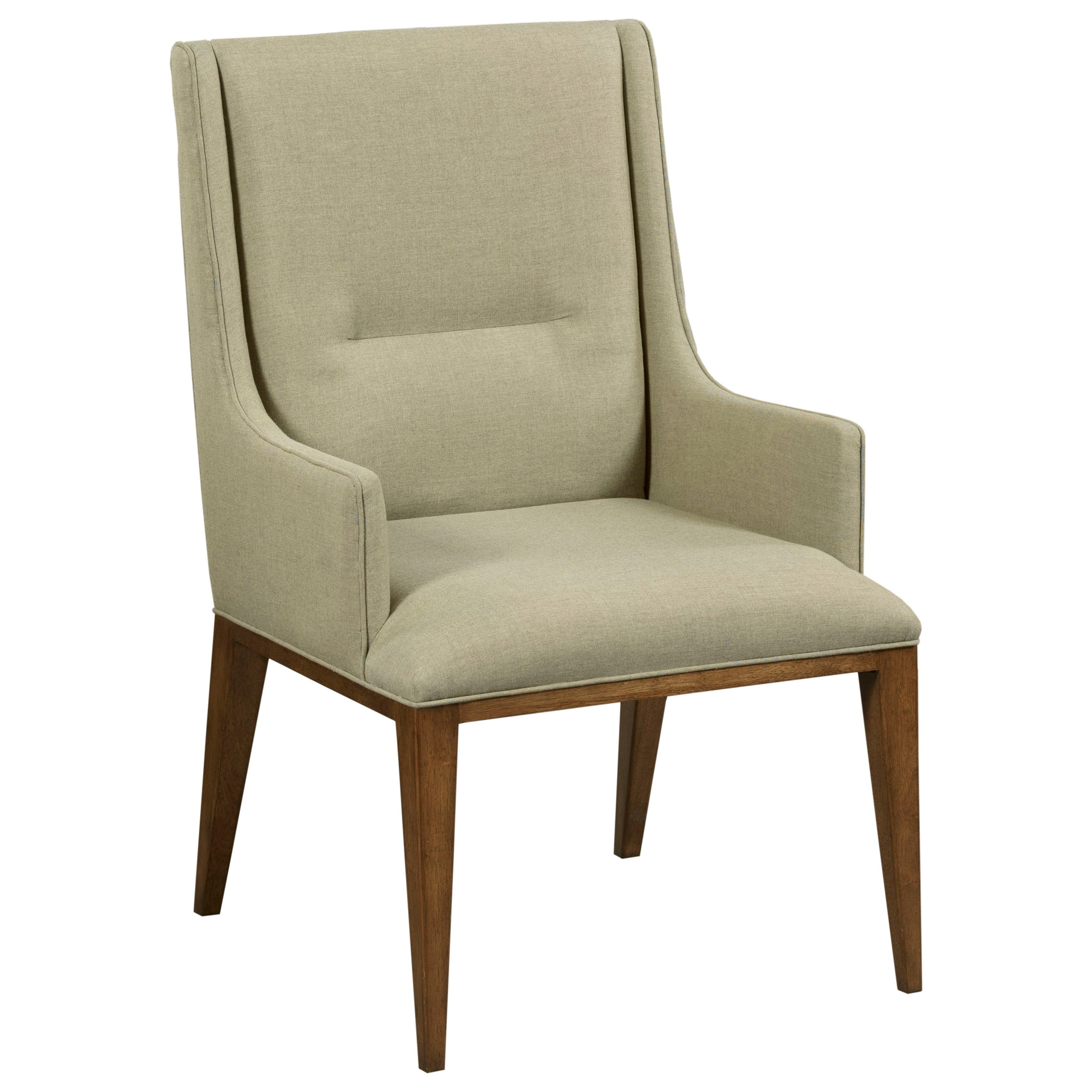 Modern Synergy Contour Arm Chair by American Drew at Stoney Creek Furniture