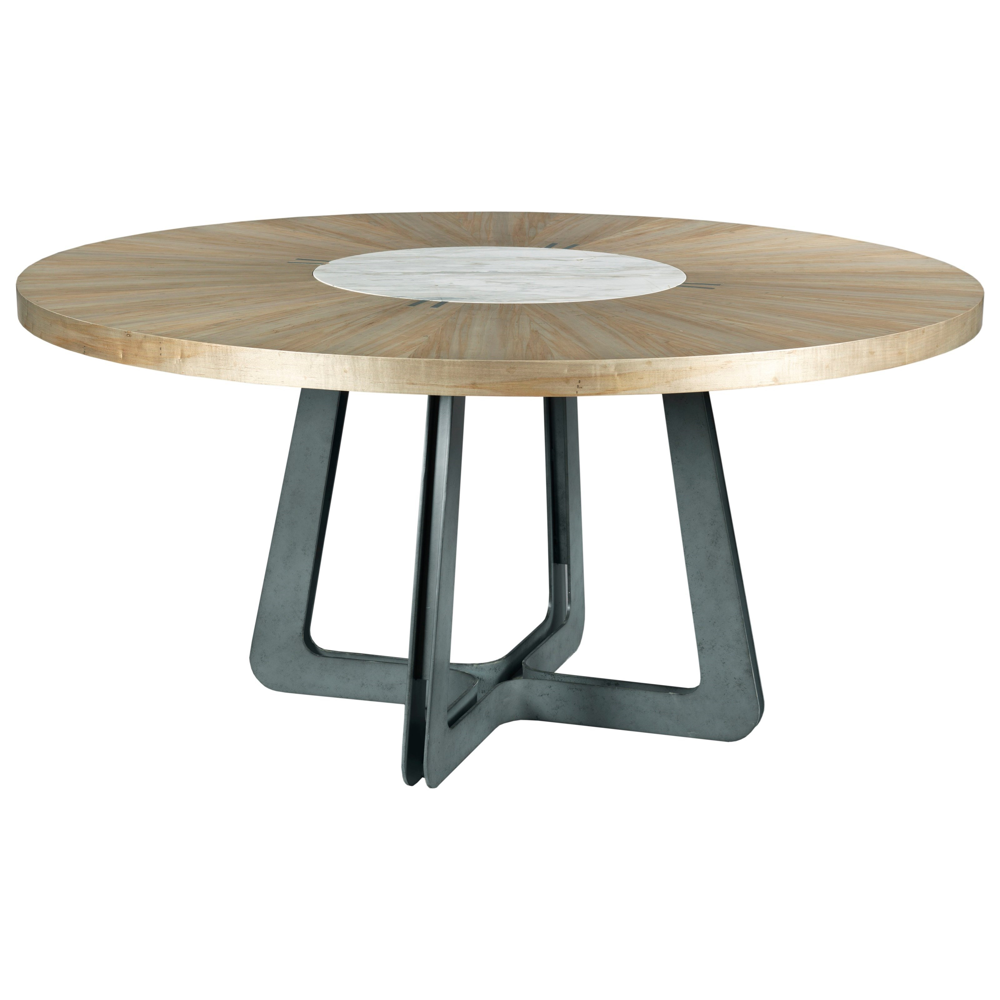 Modern Synergy Concentric Round Table by American Drew at Stoney Creek Furniture