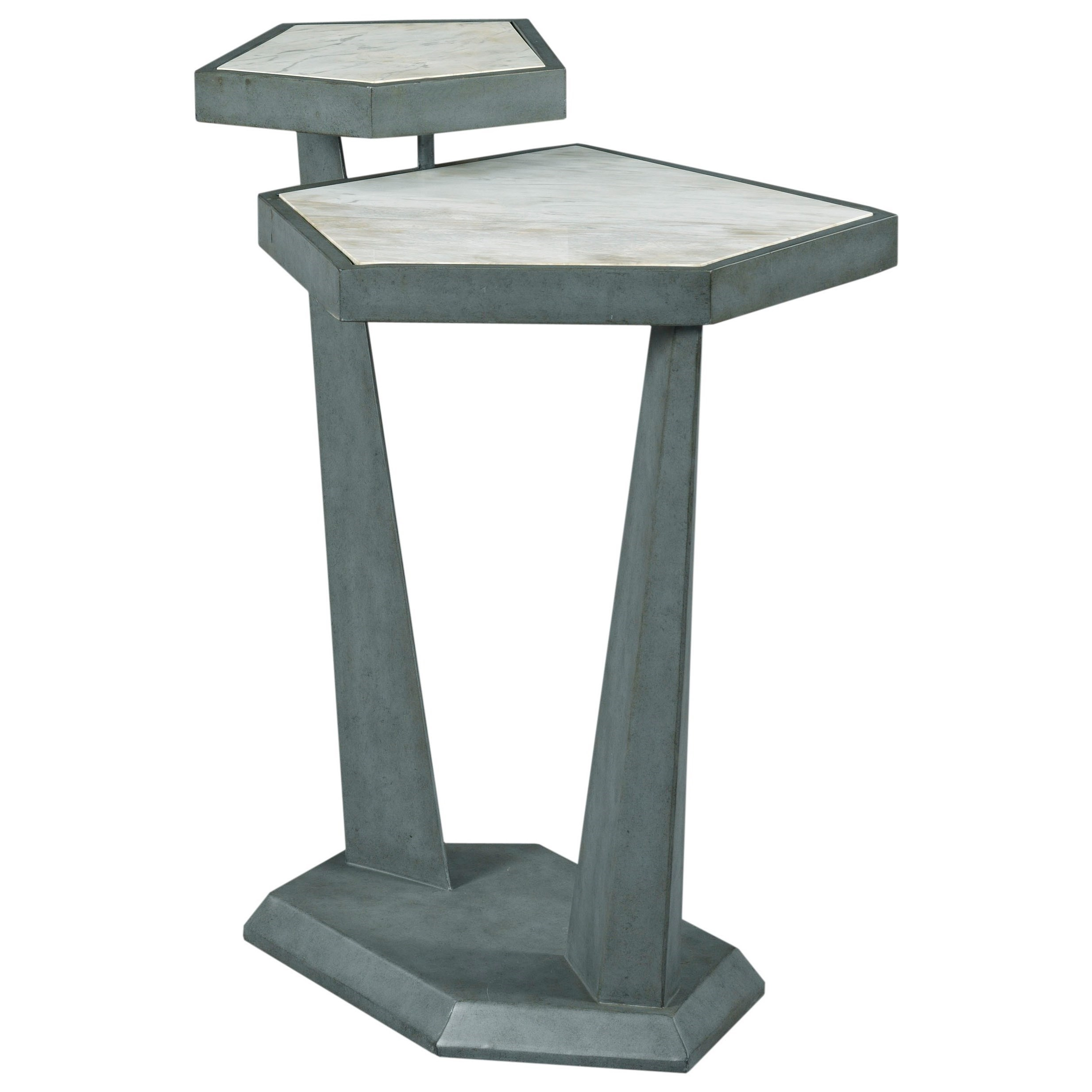 Modern Synergy Plane Accent Table by American Drew at Stoney Creek Furniture
