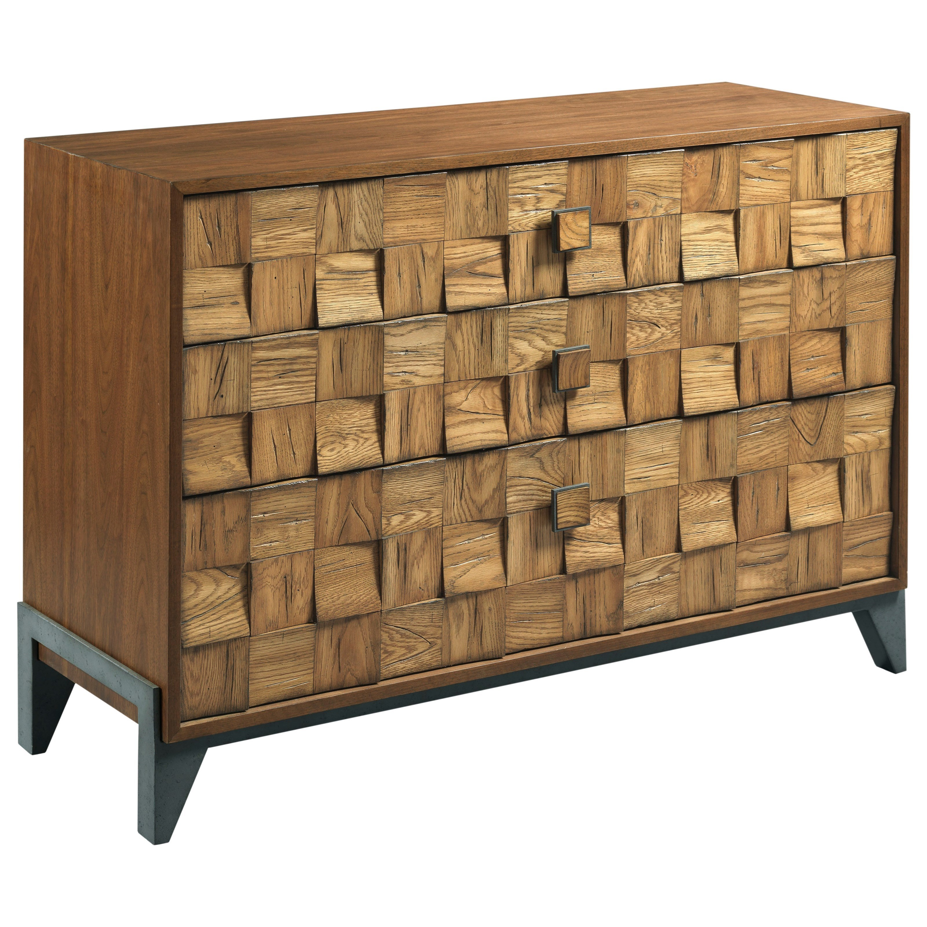Modern Synergy Pattern Console by American Drew at Stoney Creek Furniture