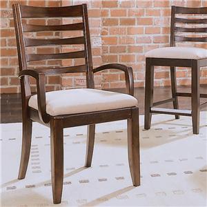 American Drew Tribecca Splat Arm Chair