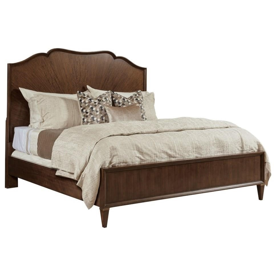 Vantage King Panel Bed by American Drew at Alison Craig Home Furnishings