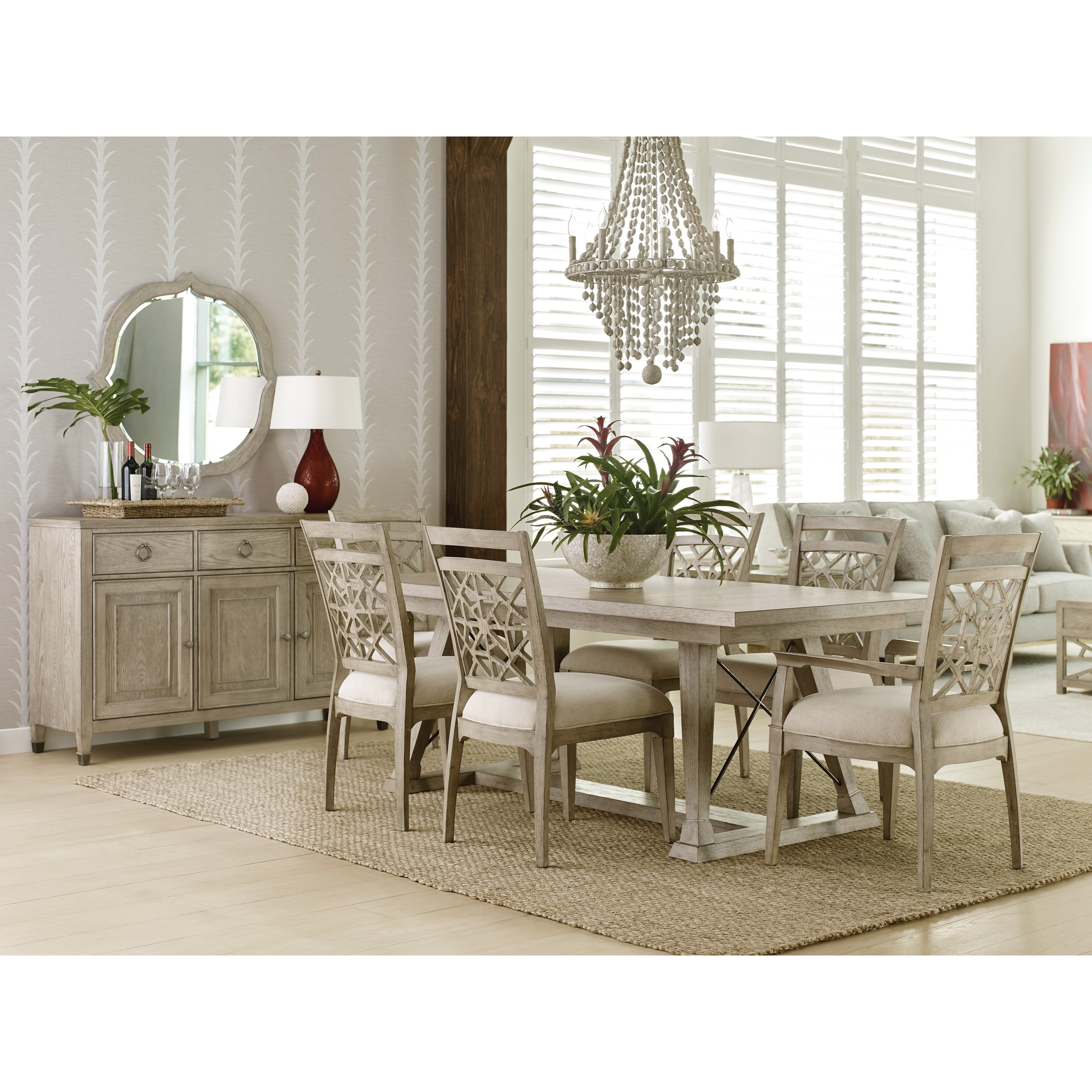 Vista Formal Dining Room Group by American Drew at Johnny Janosik