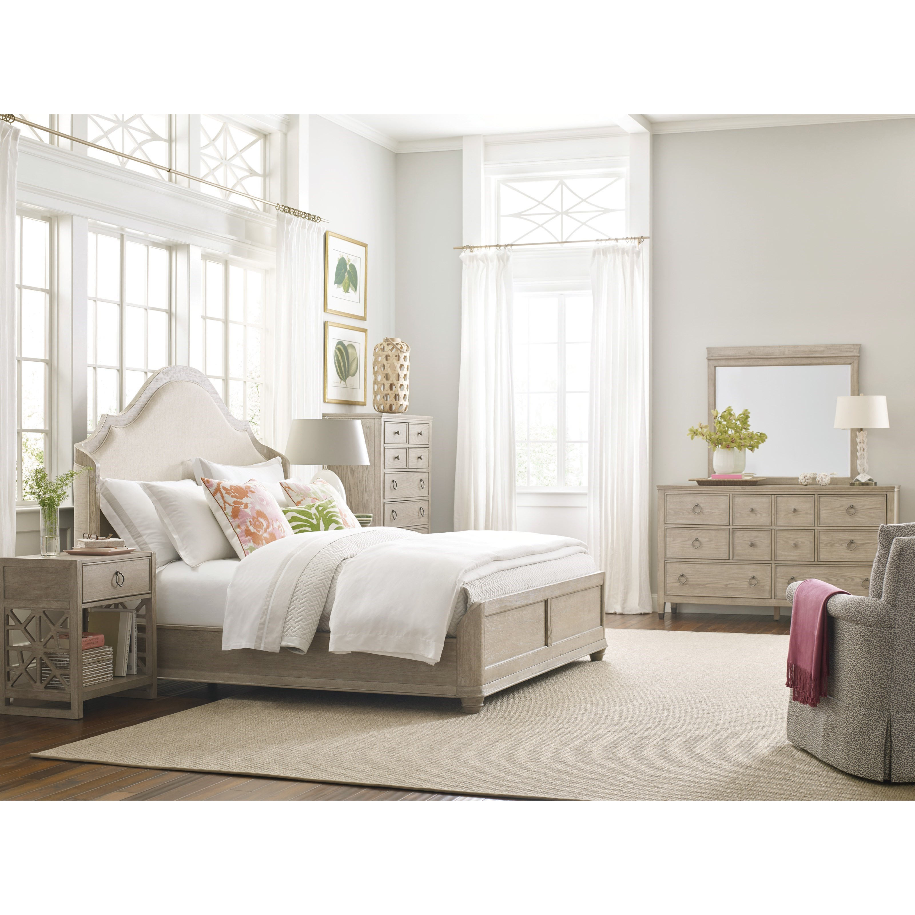 Vista Queen Bedroom Group by American Drew at Stoney Creek Furniture