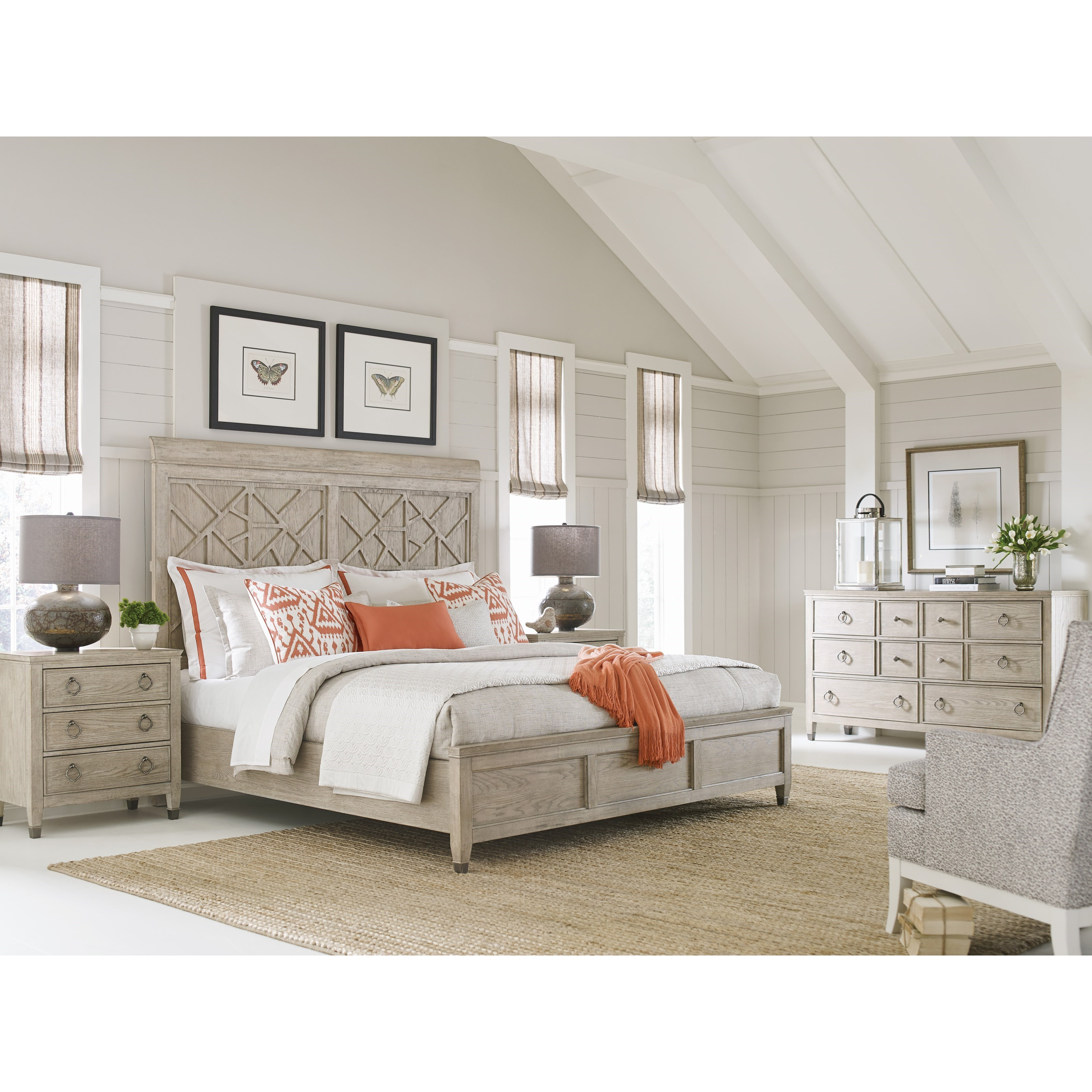Vista King Bedroom Group by American Drew at Stoney Creek Furniture