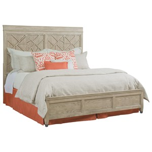 Relaxed Vintage King Altamonte Panel Bed