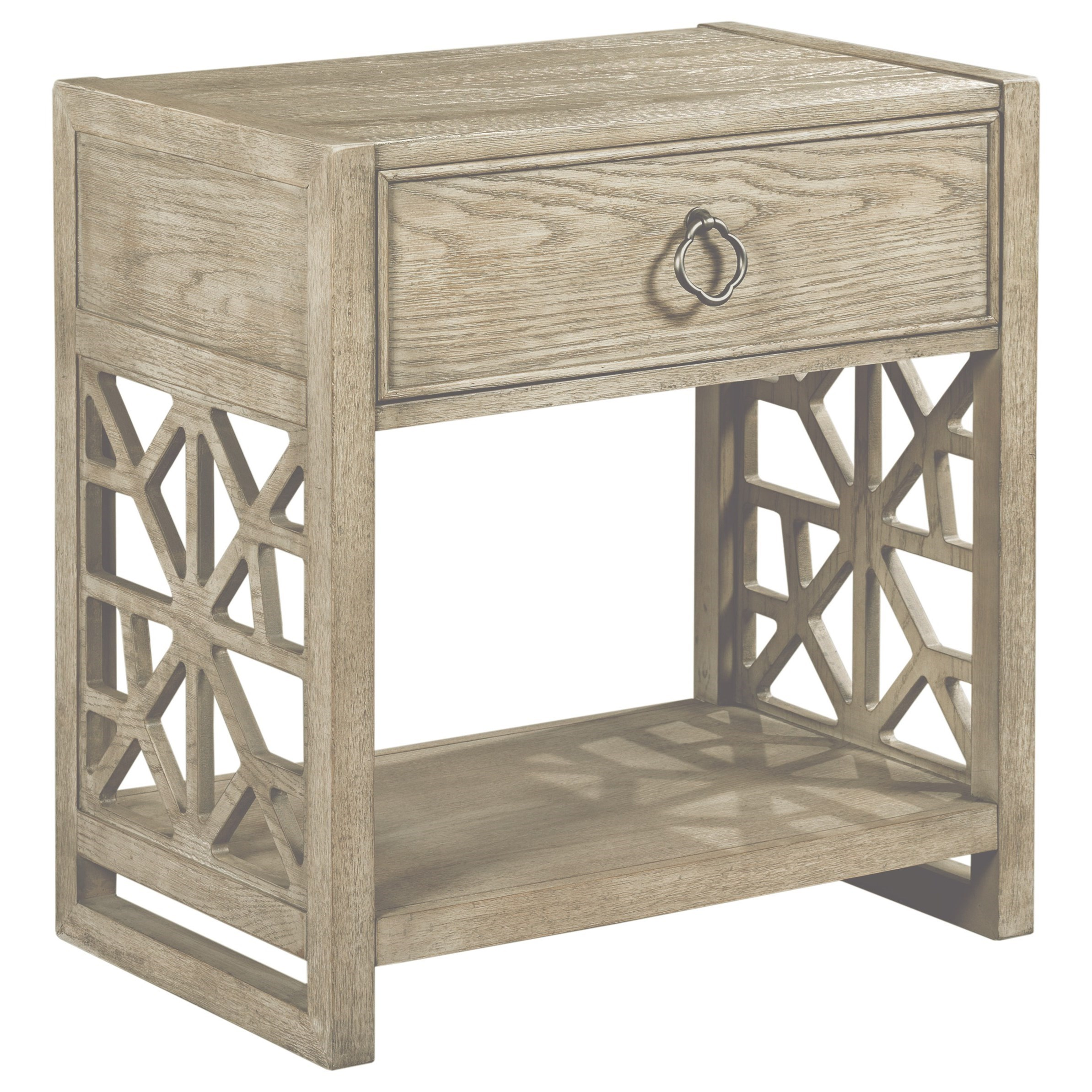 Vista Delray Open Nightstand by American Drew at Johnny Janosik