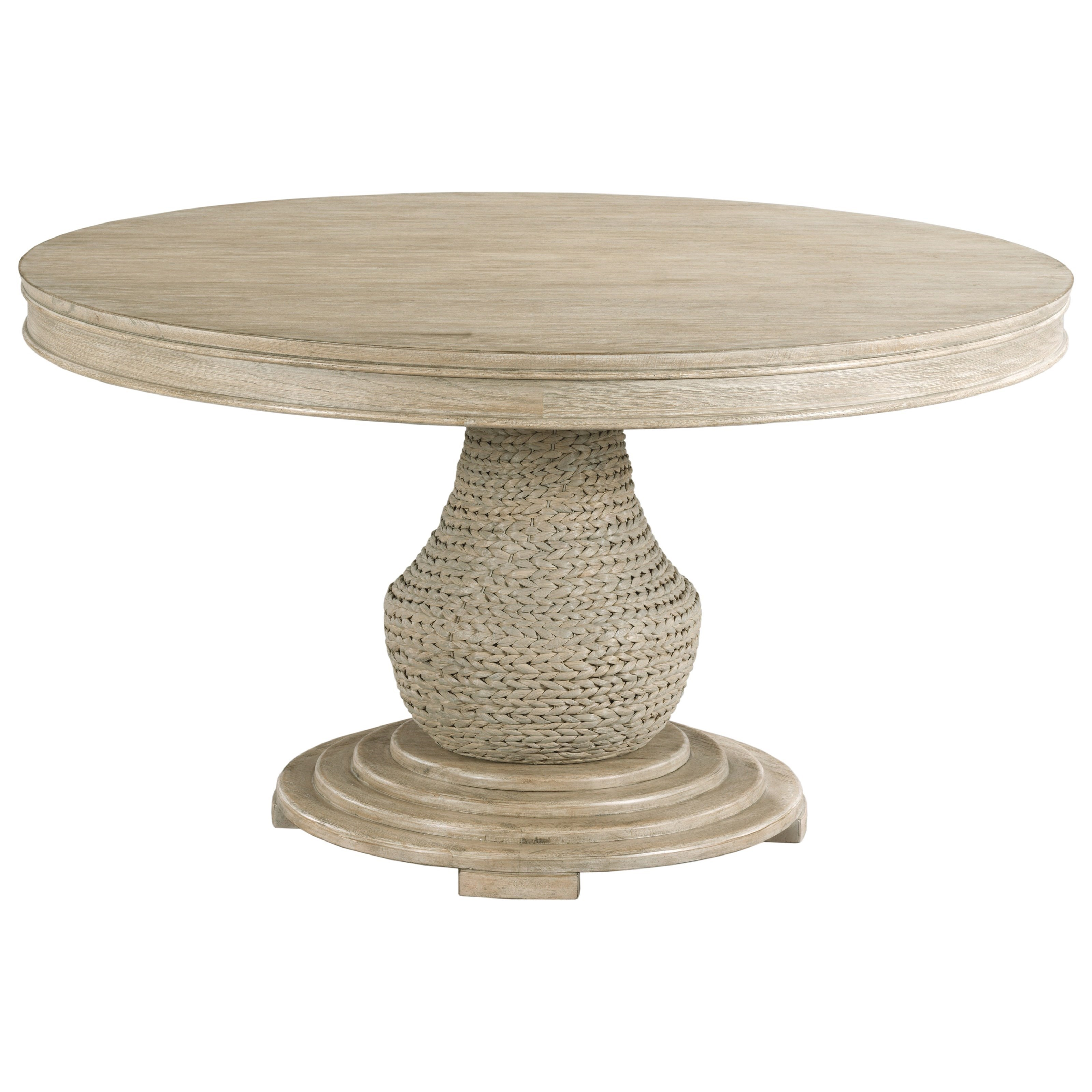 Vista Largo Round Dining Table Complete by American Drew at Johnny Janosik