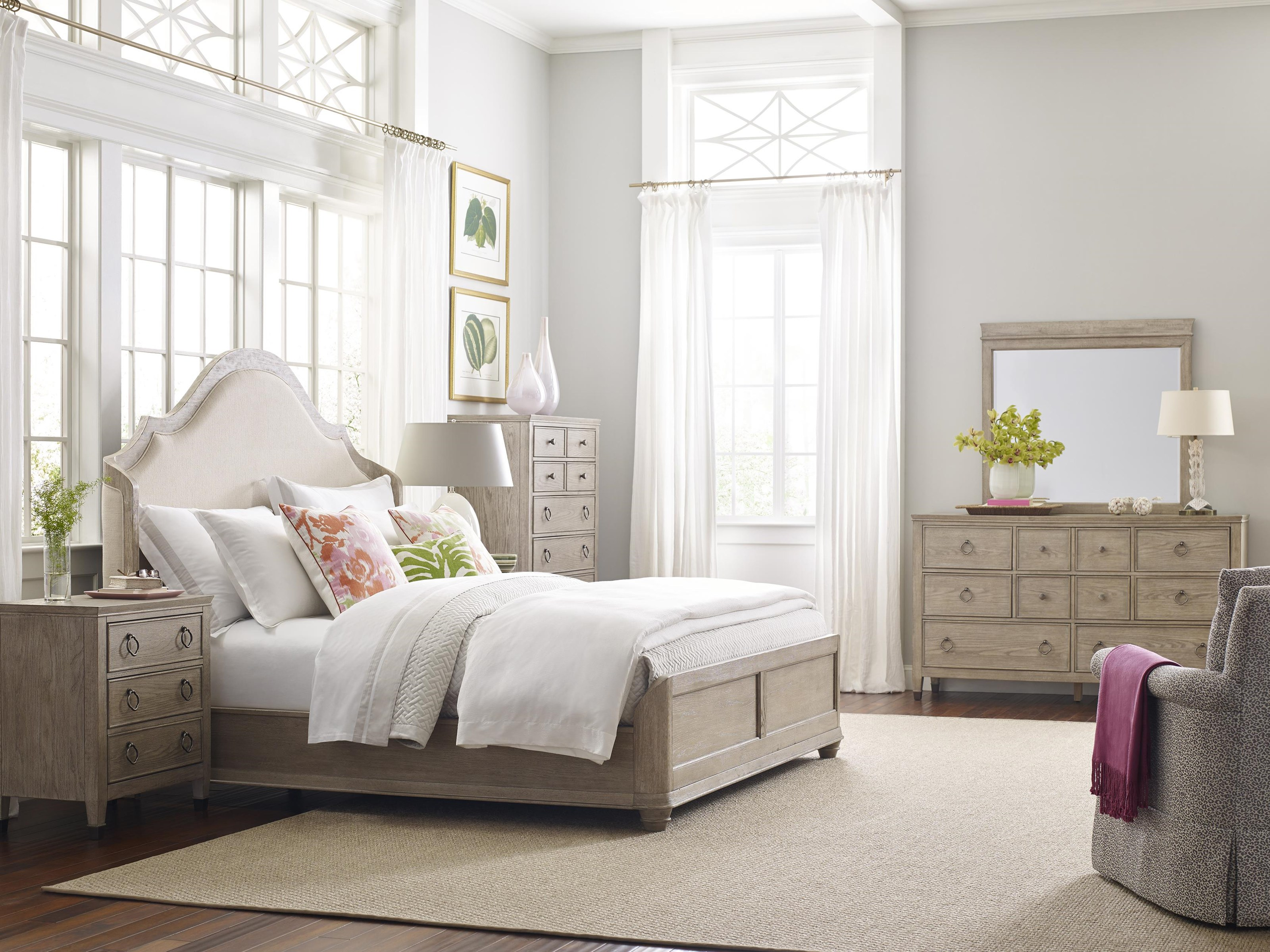 Vista Queen Shelter Bedroom by American Drew at Johnny Janosik