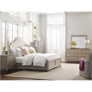 Queen Shelter Bedroom