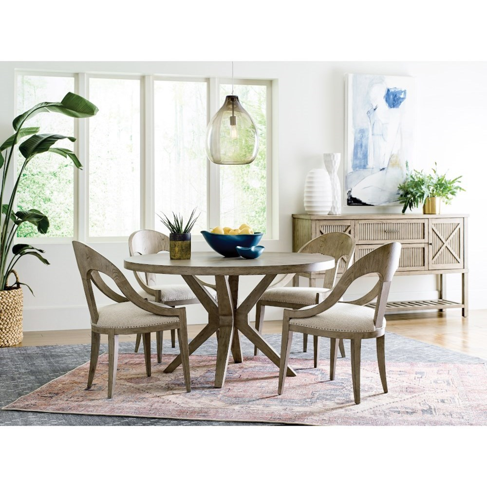 West Fork Dining Room Group by American Drew at Alison Craig Home Furnishings