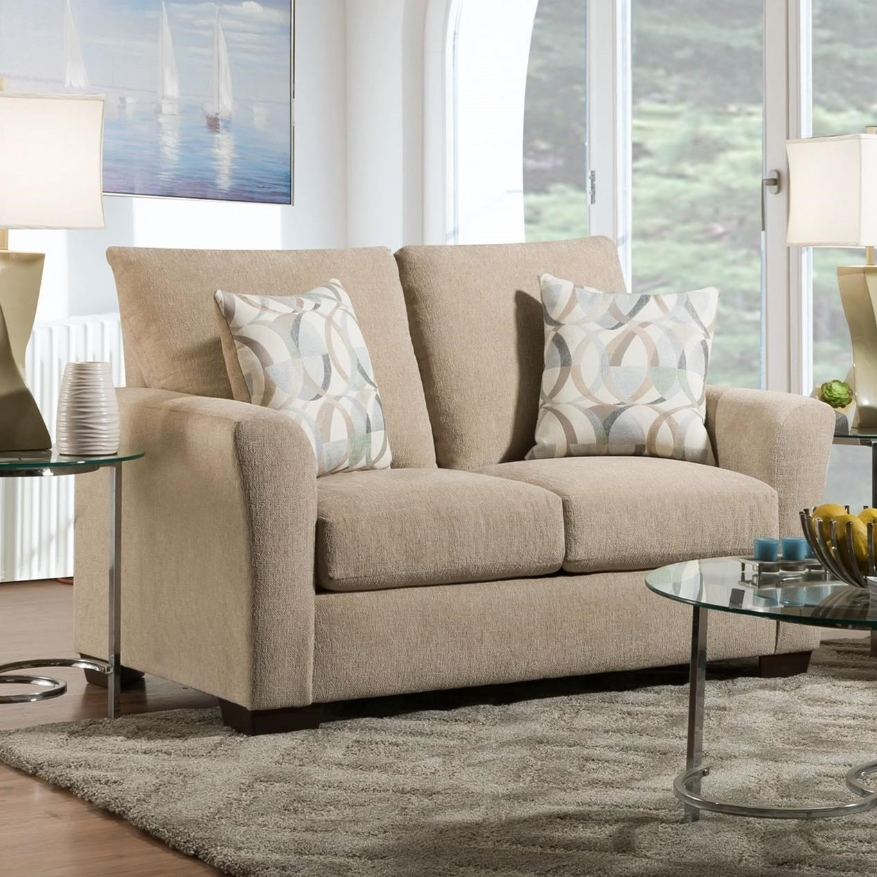1210 Loveseat by Peak Living at Prime Brothers Furniture