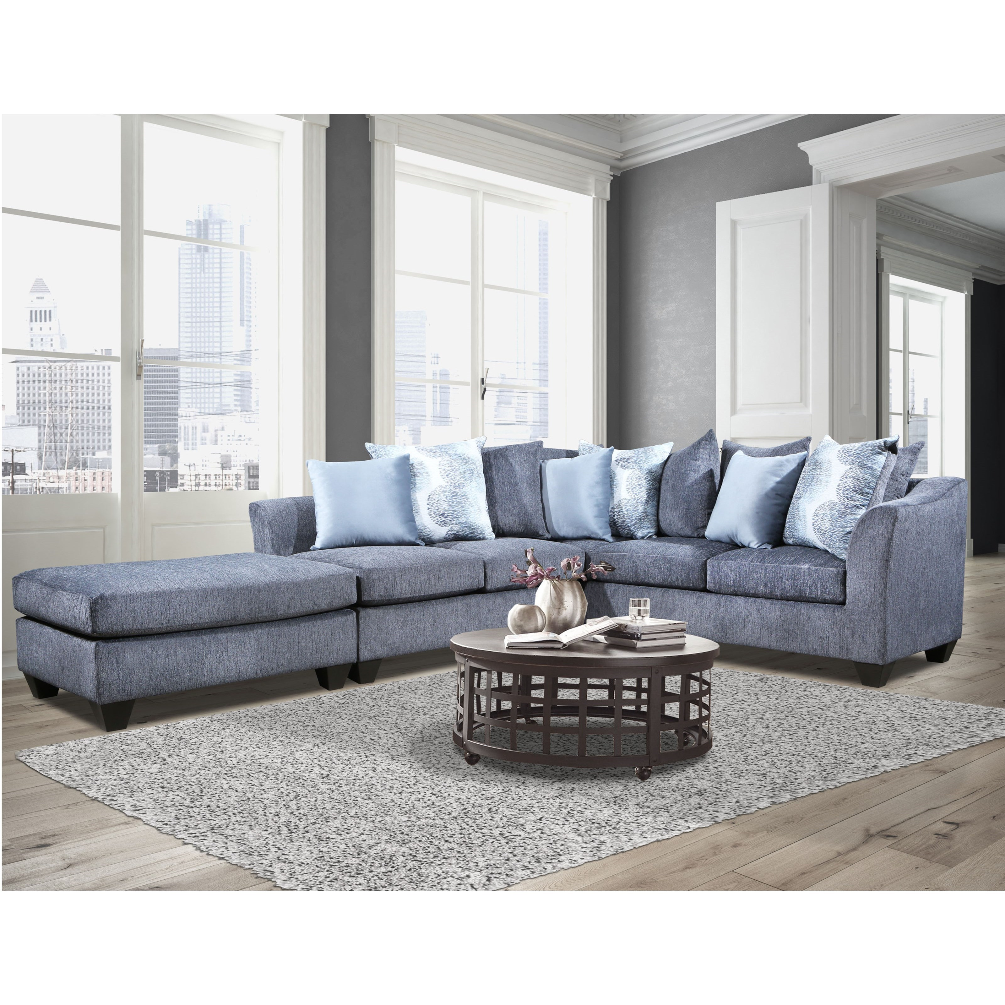 1360 Sectional by Peak Living at Prime Brothers Furniture