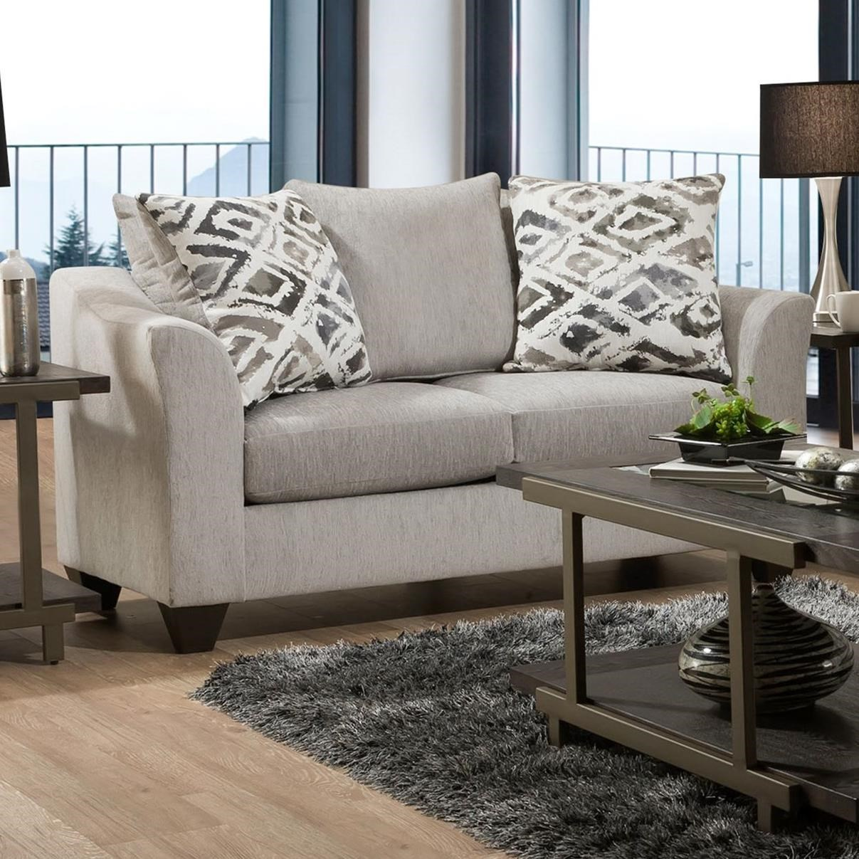 1380 Loveseat by Peak Living at Prime Brothers Furniture