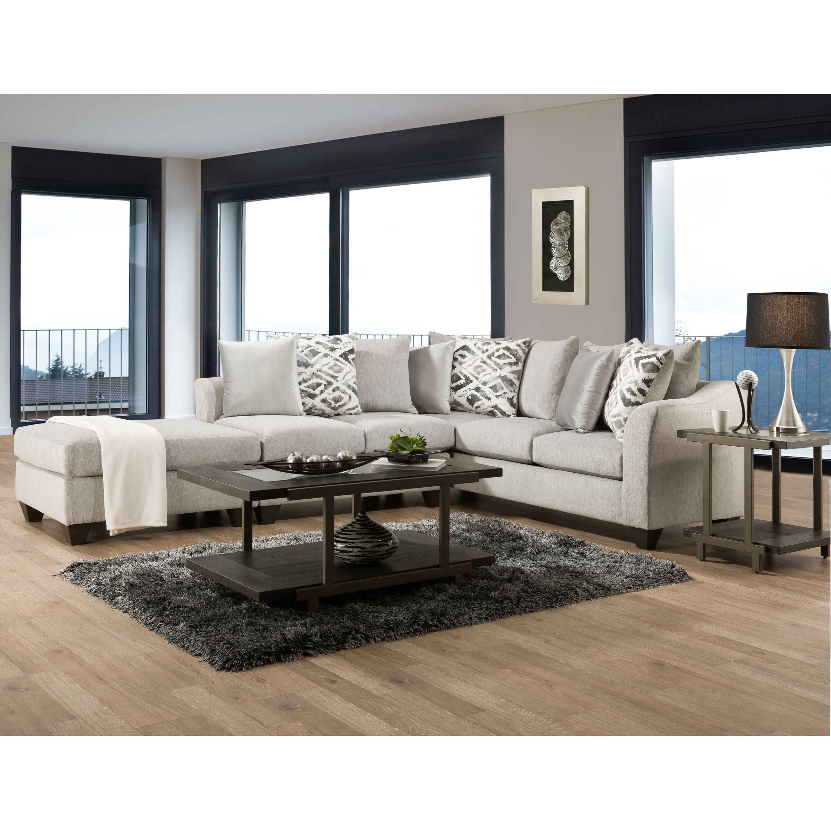 1380 Sectional by Peak Living at Prime Brothers Furniture