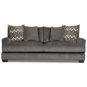 Contemporary Sofa with Gel-Infused Cushions