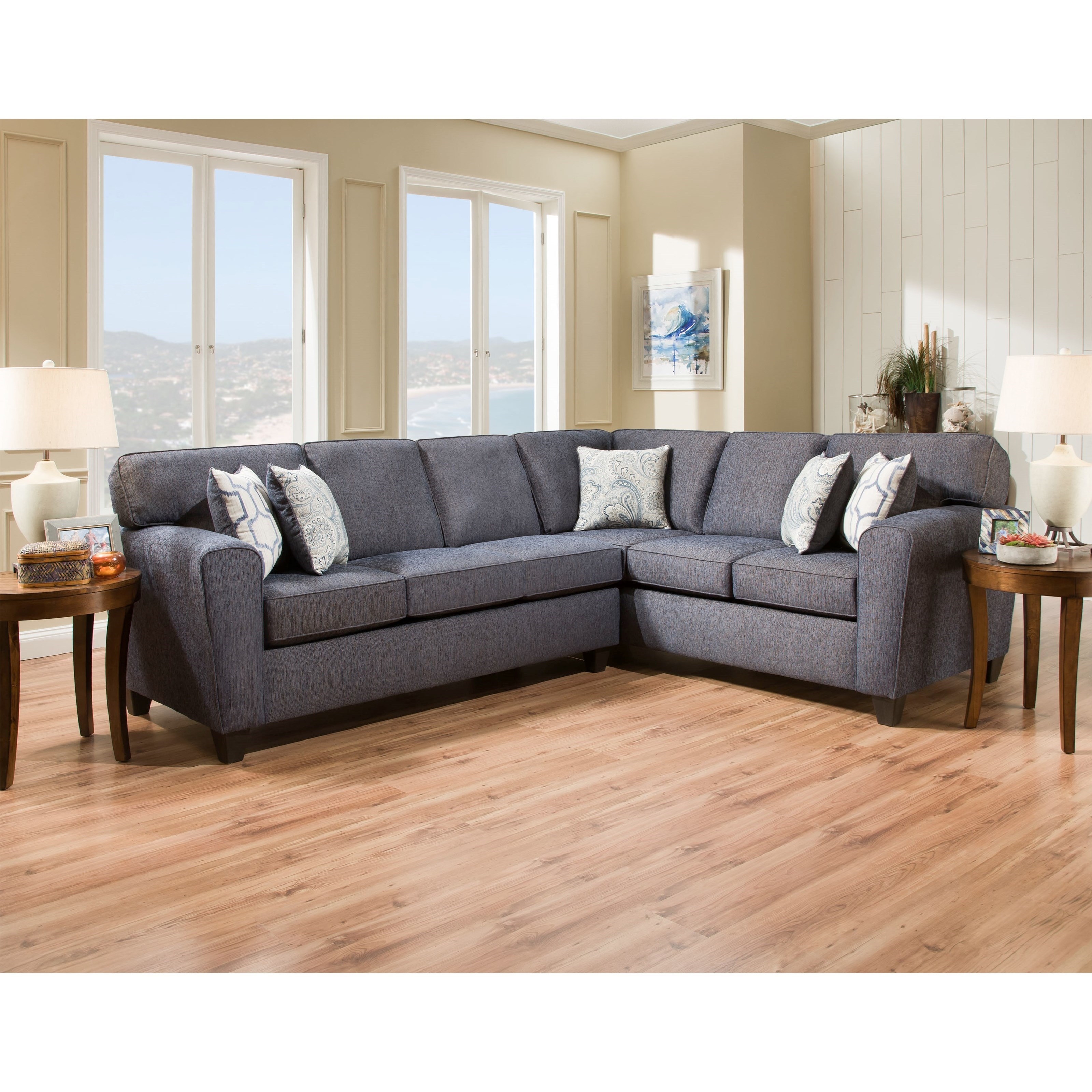 3100 Sectional Sofa by Peak Living at Prime Brothers Furniture