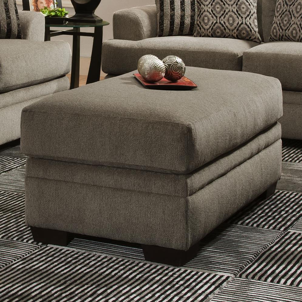 3650 Storage Ottoman by Vendor 610 at Becker Furniture