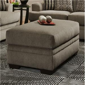 Storage Ottoman with Simple Style