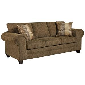 Contemporary Sofa with Casual Design Style