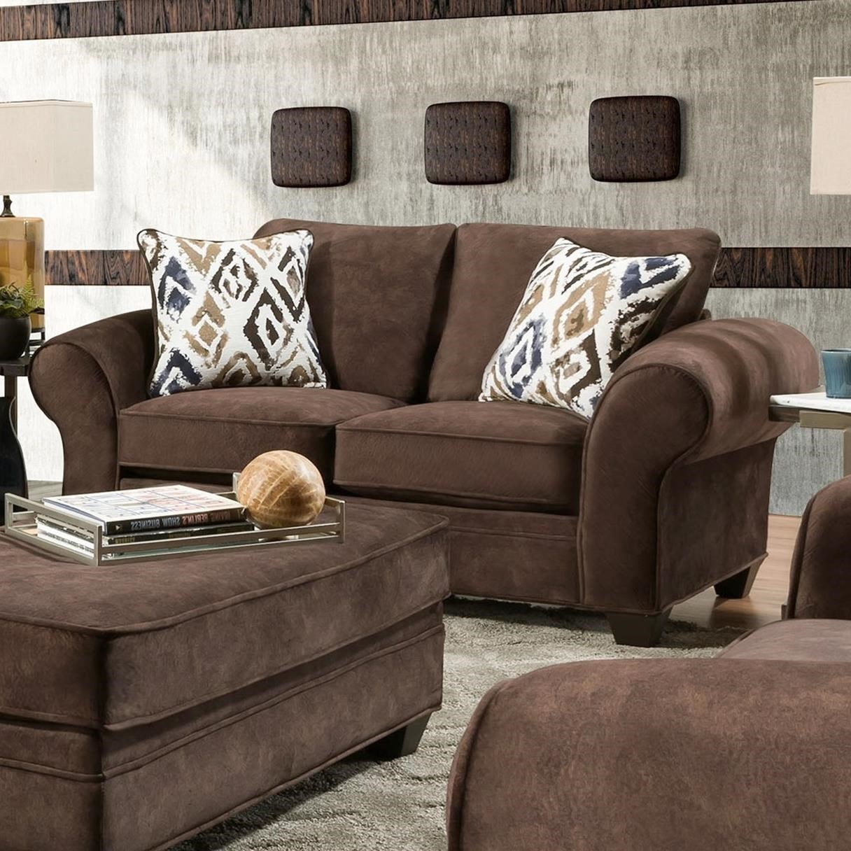 3760 Loveseat by Peak Living at Prime Brothers Furniture