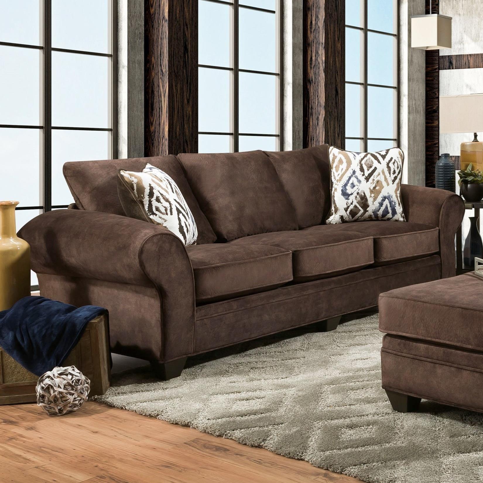 3760 Sofa by Peak Living at Prime Brothers Furniture